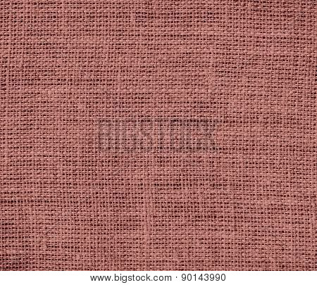 Copper penny color burlap texture background