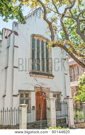 Part Of The St. Georges Cathedral In Cape Town