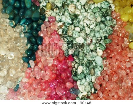 Pretty Colored Stones
