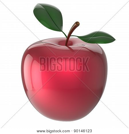 Red Apple Ripe Fruit Nutrition Antioxidant Fresh Fruit