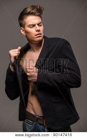 Fashion Portrait Of Man