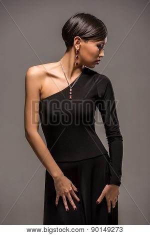 Fashion Portrait Of Asian Woman