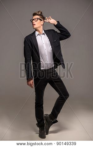 Fashion Image Of Man