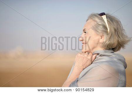 Nice senior woman
