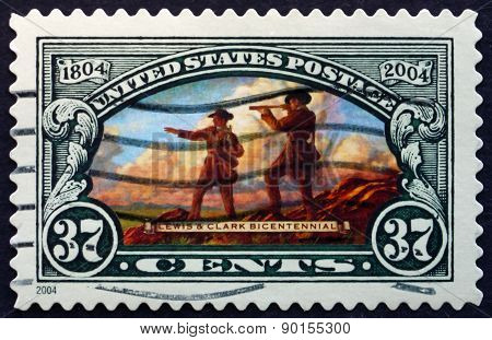 Postage Stamp Usa 2004 Lewis And Clark Expedition