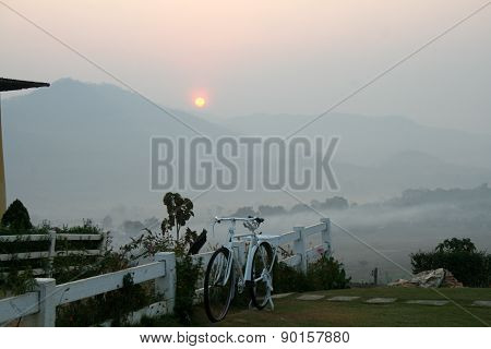 Pai and its sea of mist