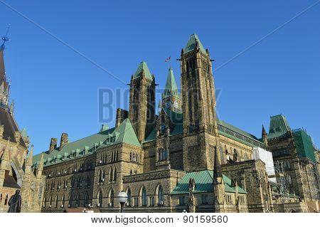 Capital building in Ottawa