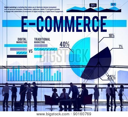 Business People Communication E-commerce Concept