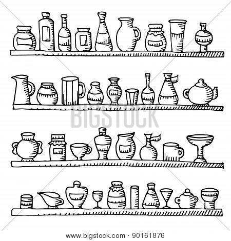 Doodle Kitchen Equipments