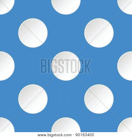 White circles pattern