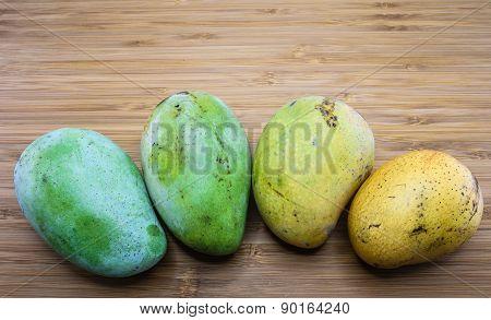 Ripening Stage Of Mango
