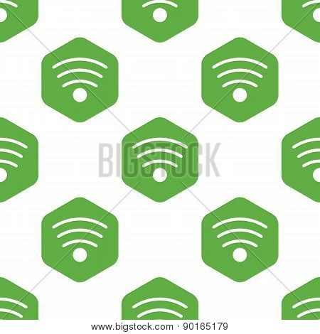 Wi-Fi sign pattern