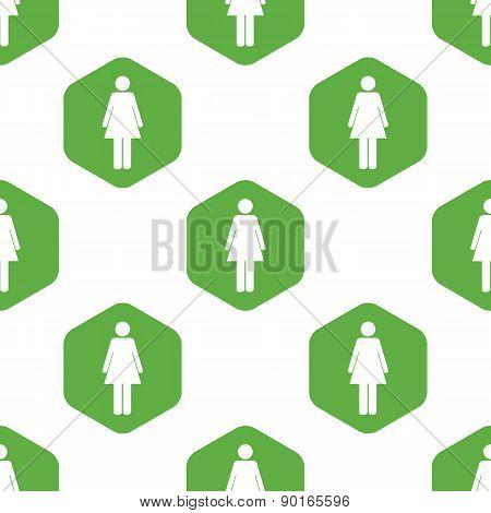 Female sign pattern