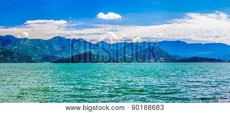 Landscape View On Skadarske Lake In Montenegro