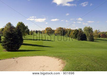 Bunker e Golf Fairway
