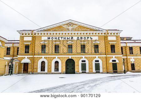 Saint-petersburg Mint Building
