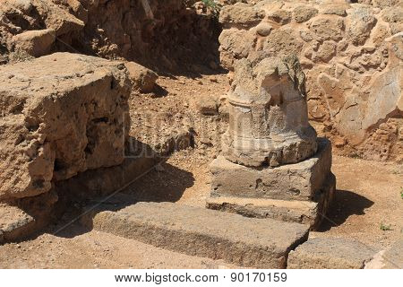 The Ruins Of The Column. Horizontal, Paphos Cyprus