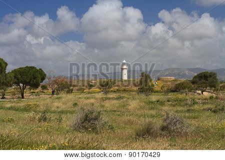 Spring In The Archaeological Park Of Paphos Cyprus
