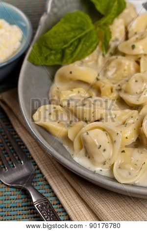 Creamy Tortellini Alfredo