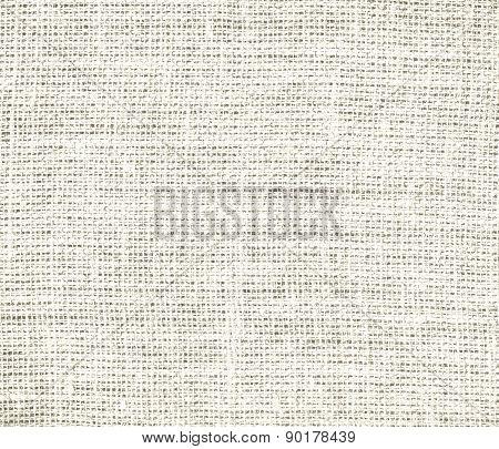 Cosmic latte color burlap texture background