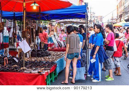 Walking Street Market.
