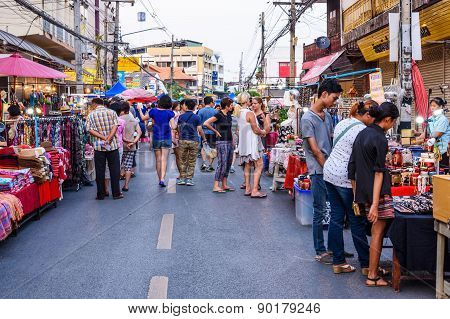 Walking Street Market.