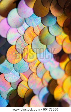 sequins pattern texture