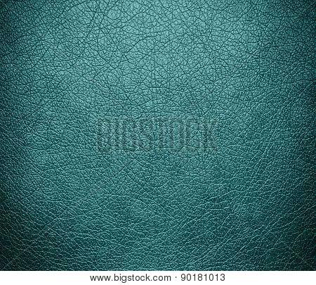 Cadet blue color leather texture background