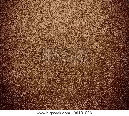 Cafe au lait color leather texture background