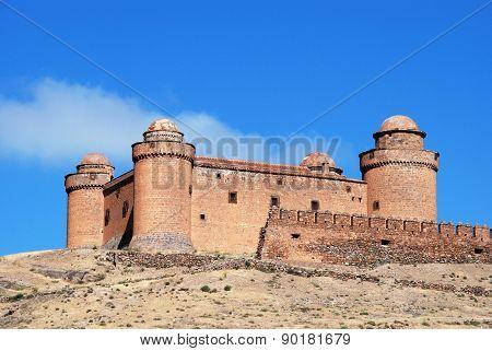 La Calahorra castle.