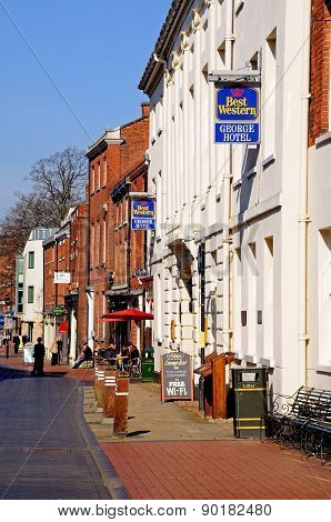 Bird Street, Lichfield.
