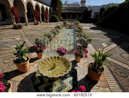 At The Palace Of Marquis Of Viana, Cordoba, Spain