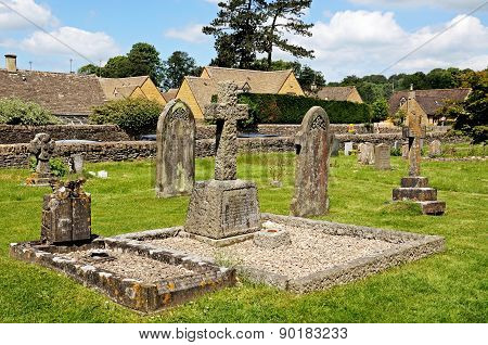 Graveyard, Lower Slaughter.
