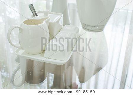 Set Of Elegant Tea Cup