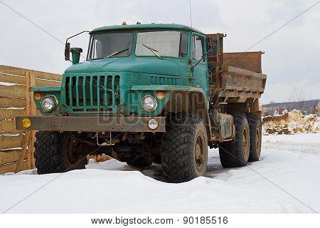 Old Soviet Truck