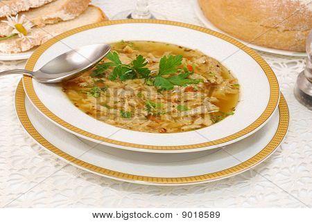 Polish Tripe Soup (flaki)