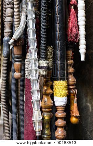 nargile hoses, Istanbul, Turkey