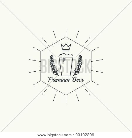 Beer brewery emblems
