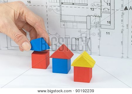 Mortgage And Construction Concept.