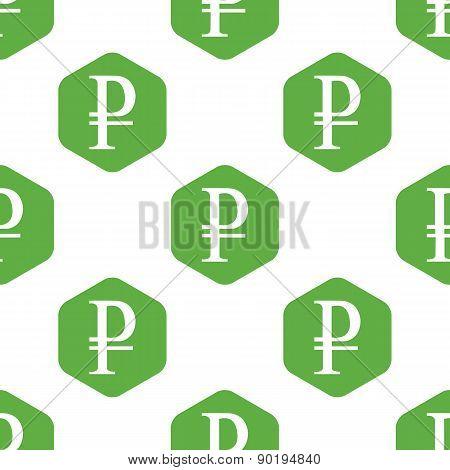 Ruble pattern