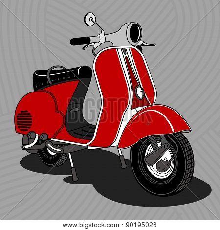 Scooter. Carrello