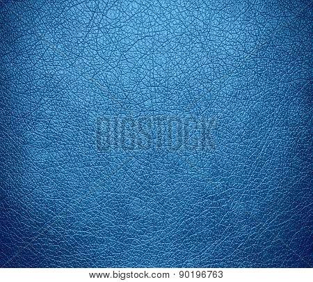 Carolina blue color leather texture background