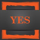 picture of yes  - Yes icon - JPG