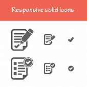 image of solid  - responsive solid agreement icons - JPG
