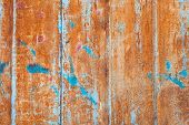 image of oxidation  - abstract corroded colorful wallpaper grunge background iron rusty artistic wall peeling paint - JPG