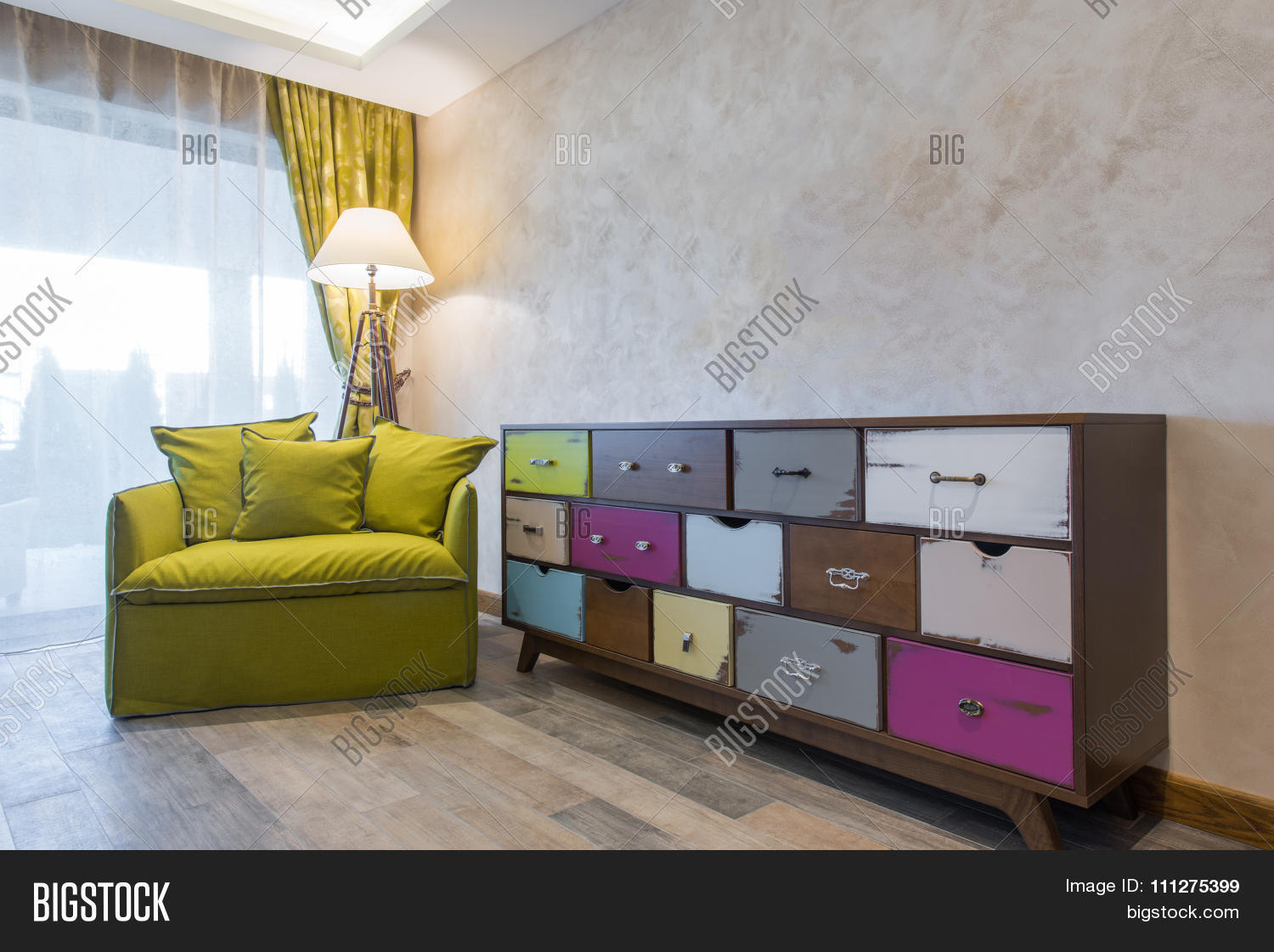 Shabby chic style commode image photo bigstock for Commode style shabby