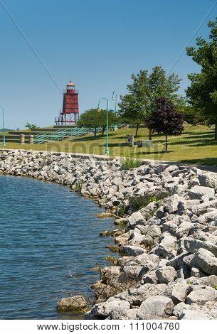Lake Michigan Harbor