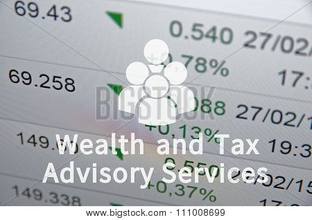Wealth and Tax Advisory Services