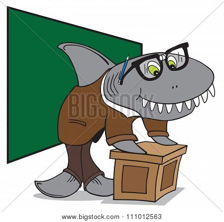 Nerd Shark Professor