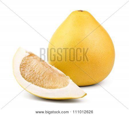 Ripe fruit pomelo
